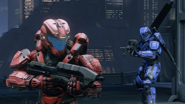Halo 5: Ballerspaß mit den Spartanern. Halo 5 Multiplayer Ego-Shooter von 343 Industries für Xbox One (Quelle: Microsoft)