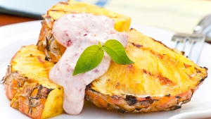 Ananas grillen: Eine vegetarische Alternative