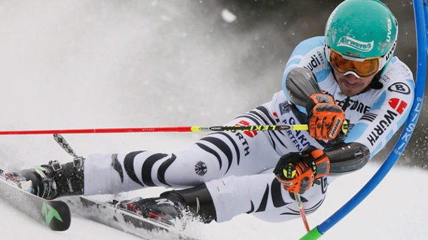 Felix Neureuther Zweiter beim Riesenslalom in Garmisch. Felix Neureuther wird Zweiter beim Riesenslalom in Garmisch-Partenkirchen. (Quelle: Reuters)