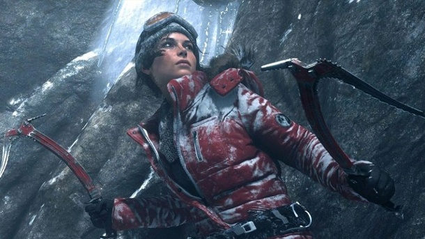 Xbox One kommt im Bundle mit Rise of the Tomb Raider. Rise of the Tomb Raider: Action-Adventure von Crystal Dynamics (Quelle: Square Enix)