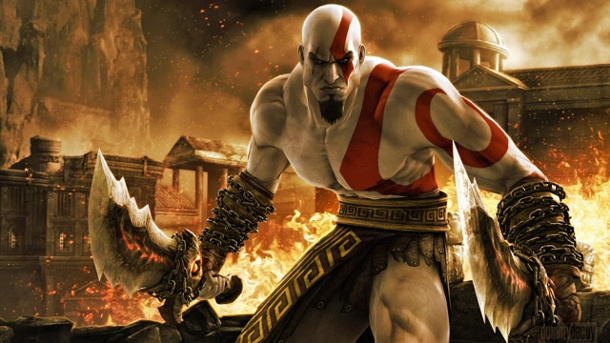 God of War 4: So lernt Kratos seinen Sohn an. God of War 3 Actionspiel von Sony (Quelle: Sony)