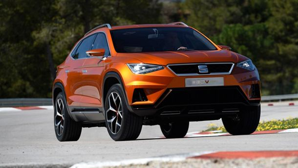 Rollt bald an: Neues Seat-SUV 20V20. (Quelle: Press-Inform)