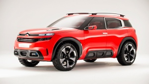Citroën Aircross Concept: Neues Mittelklasse-SUV geplant