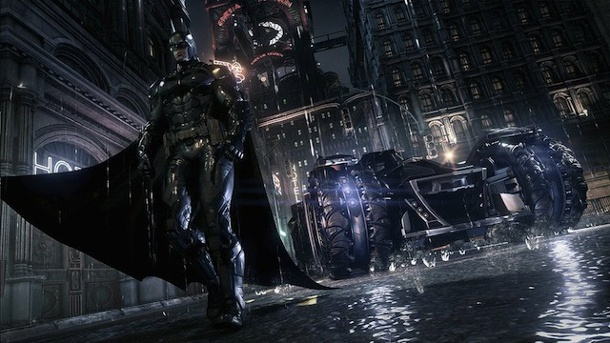 Batman: Arkham Knight im Preview - Fledermaus mit Führerschein. Batman: Arkham Knight Action-Adventure von Rocksteady Studios (Quelle: Warner Bros. Interactive Entertainment)