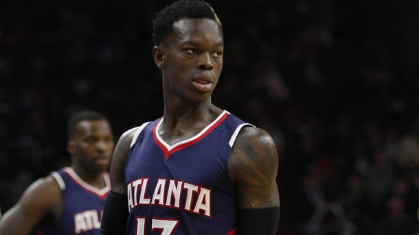 NBA: Atlanta Hawks gehen mit 1:2 in Rückstand gegen Washington Wizard. Dennis Schröder geht mit den Atlanta Hawks mit 1:2 gegen die Washington Wizards in Rückstand.  (Quelle: imago/ZUMA Press )