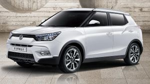 ssangyong tivoli neues mini suv zum g nstigen preis. Black Bedroom Furniture Sets. Home Design Ideas