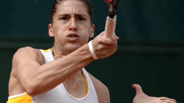 French Open 2015: Andrea Petkovic und Julia Görges in Runde drei. Andrea Petkovic hat in Paris auch Lourdes Dominguez Lino gezwungen.