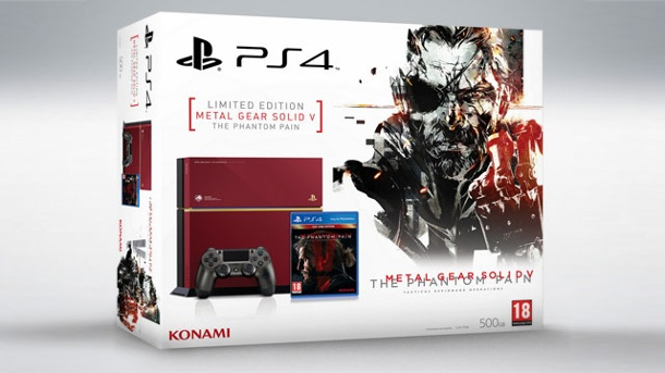 PS4: Sony kündigt Metal Gear Solid 5-Sondermodell an. PS4: Sony bringt Metal Gear Solid 5: The Phantom Pain-Sondermodell (Quelle: Sony)