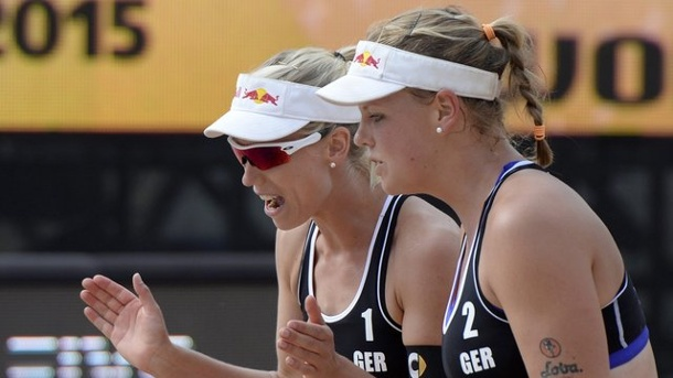 Beach-Volleyball: Beach-Duo Borger/Büthe scheitert in Florida im Halbfinale. Karla Borger (l.