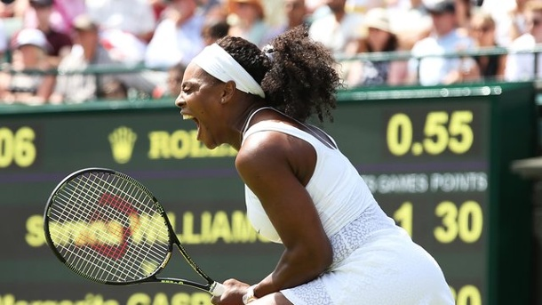 Tennis: Serena Williams, Scharapowa und Ivanovic weiter. Serena Williams ist in Wimbledon die Top-Favoritin.