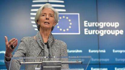 IWF-Chefin Christine Lagarde (Quelle: Reuters)