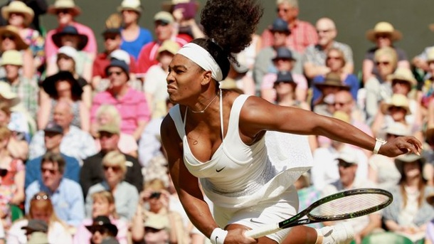 Wimbledon 2015: Serena Williams im Finale gegen Muguruza. Serena Williams strebt in Wimbledon ihren 21.