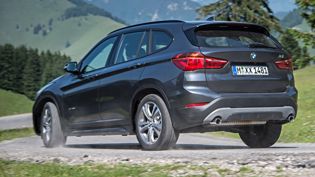 bmw x1 im test er ist ein richtiges suv. Black Bedroom Furniture Sets. Home Design Ideas