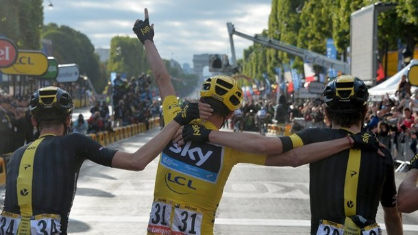 "Tour de France 2015: ""Rule Britannia"" nach Froomes Tour-Sieg. Christopher Froome gewann am Sonntag die Tour de France."