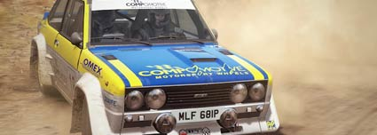 Dirt Rally Rennspiel von Codemasters für PC (Quelle: Codemasters)