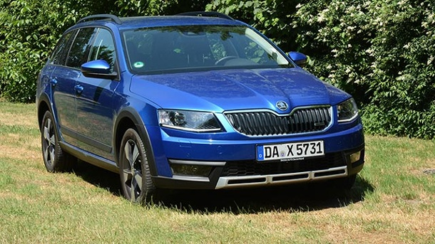 skoda octavia combi scout der rustikale tscheche im autotest. Black Bedroom Furniture Sets. Home Design Ideas