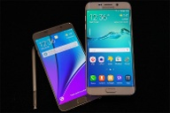 Sasmung  Galaxy Note 5 und Samsung  Galaxy S6 Edge+  (Quelle: dpa)