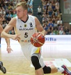 Niels Giffey: Forward, 24 Jahre, 2,00 Meter, ALBA Berlin. (Quelle: imago/Camera 4)