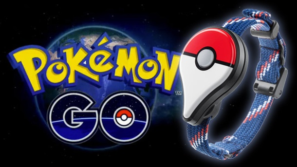 Augmented Reality-Game: Pokémon Go soll 2016 starten. Pokémon Go mit Go Plus-Gadget Mobile Game für iOS und Android (Quelle: Nintendo / The Pokémon Company / Niantic)