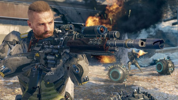 Call of Duty: Black Ops 3 braucht ordentlich Speicherplatz. Call of Duty: Black Ops 3 für PC, PS4 und Xbox One (Quelle: Activision)