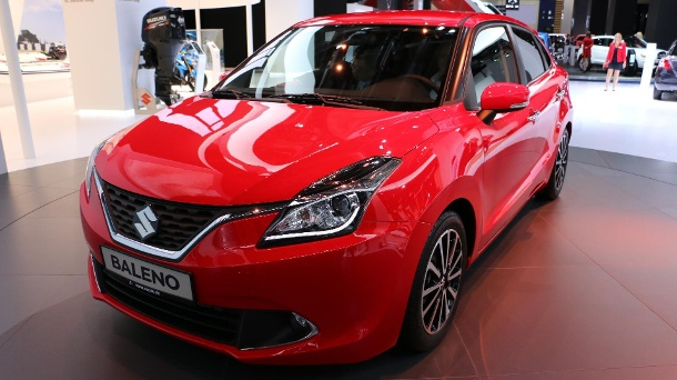 suzuki baleno neuer kleinwagen auf der iaa 2015 enth llt. Black Bedroom Furniture Sets. Home Design Ideas