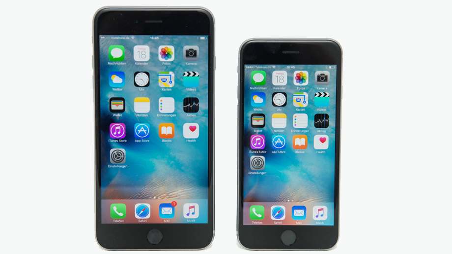 iPhone 6s und iPhone 6s Plus  (Quelle: dpa)