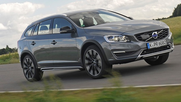 Volvo V60 Cross Country im Autotest. Gut in Fahrt: Der Volvo V60 Cross Country. (Quelle: Hersteller)