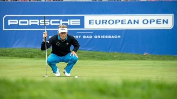 Golf: Langer bester deutscher Golfer in Bad Griesbach. Bernhard Langer war in Bad Griesbach der Publikumsmagnet.