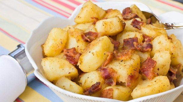 Rezeptbild: Warmer Kartoffelsalat (Quelle: Thinkstock by Getty-Images)