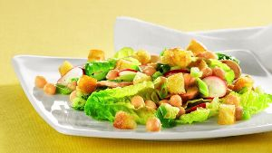 Rezeptbild: Bunter Salat mit Kichererbsen