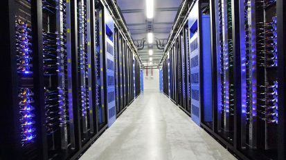 Facebook-Server in Lulea (Schweden) (Quelle: Reuters)