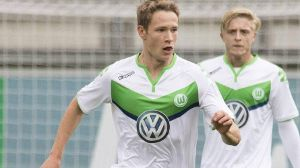 Wolfsburgs Nachwuchs am Ball, hier Paul Jaeckel in der UEFA Youth League.