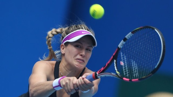 Eugenie Bouchard verklagt US-Tennis-Verband nach Ausrutscher. Eugenie Bouchard war bei den US Open folgenschwer ausgerutscht.