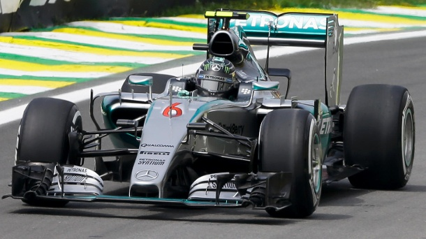 Formel 1: Nico Rosberg holt Pole Position in Brasilien. Nico Rosberg geht in Brasilien von der Pole Position ins Rennen. (Quelle: AP/dpa)
