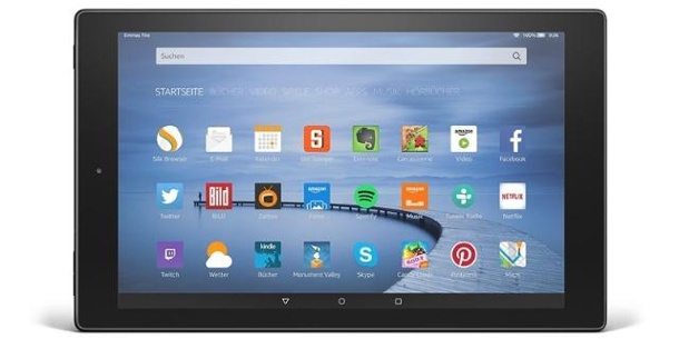 Tablet Amazon Fire HD 10 im Test. Amazons erstes 10-Zoll-Tablet im Test: Fire HD 10