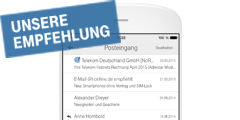 Telekom Mail App fürs iPhone