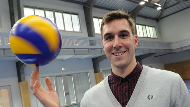 Volleyball - United-Team aus Rüsselsheim: Start-up der Volley-Szene. Henning Wegter ist Manager der United Volleys.