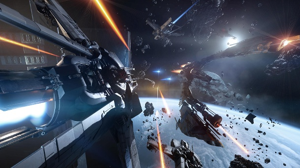 "Star Citizen Alpha 2.0: Das neue ""Wing Commander"" hebt ab. Star Citizen (Quelle: Cloud Imperium Games)"