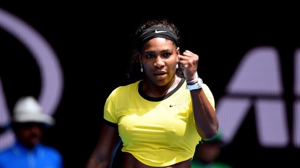 Serena Williams besiegt Maria Scharapowa bei Australian Open klar. Serena Williams hat das Match gegen Maria Scharapowa gewonnen.