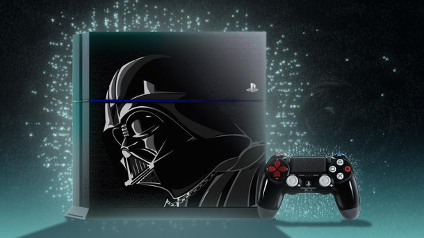 Sony PS4 im Star Wars Design inklusive Battlefront gewinnen. Sony PlayStation 4 im limitierten Star-Wars-Design (Quelle: Sony PlayStation)