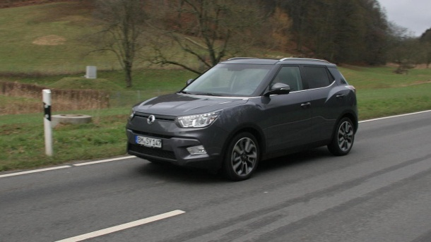 ssangyong tivoli e xdi 4wd im test oberklasse im mini suv. Black Bedroom Furniture Sets. Home Design Ideas