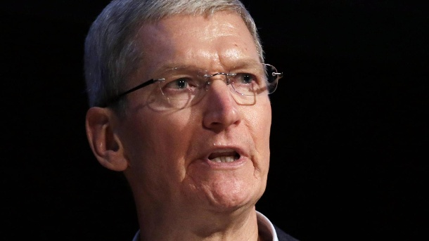 Apple will Attentäter-iPhone nicht entschlüsseln. Apple-CEO Tim Cook (Quelle: imago/UPI Photo)
