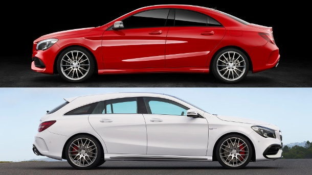 mercedes benz cla facelift 2016 preise f r kompakte limousine und shooting brake. Black Bedroom Furniture Sets. Home Design Ideas