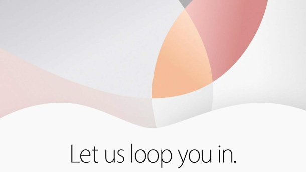 "Das Motto ""Let us loop you in"" gibt Rätsel auf. (Quelle: Apple)"