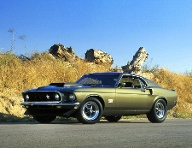 1969 Ford Mustang Boss 429 (Quelle: Ford Motor Company)