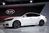 Neues Flaggschiff aus Korea: Kia Cadenza. (Quelle: Reuters)