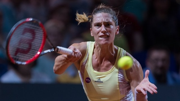 Tennis: Andrea Petkovic stellt Fed Cup 2017 in Frage. Andrea Petkovic schied in Stuttgart aus.