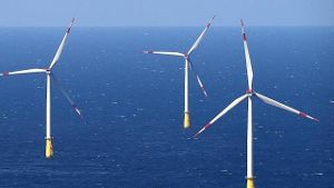Offshore-Windpark Nordsee (Quelle: dpa)
