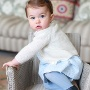 Herzogin Kate höchstpersönlich lichtete die kleine Charlotte ab. (Quelle: Quelle: Kate, the Duchess of Cambridge/Kensington Palace via AP)