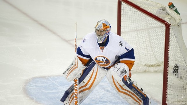 New York Islanders: Zweite Niederlage für Greiss in NHL-Playoffs 2016. Islanders-Goalie Thomas Greiss konnte nicht an die zuvor überragenden Leistungen anknüpfen.